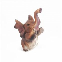88009 - Éléphant marron...