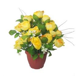 Fleurs artificielles en...