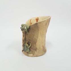 J0050 - Pot/vase en terre...